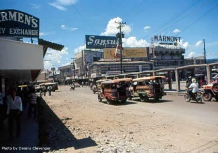 Olongapo - Looking up Magsaysay Blvd.